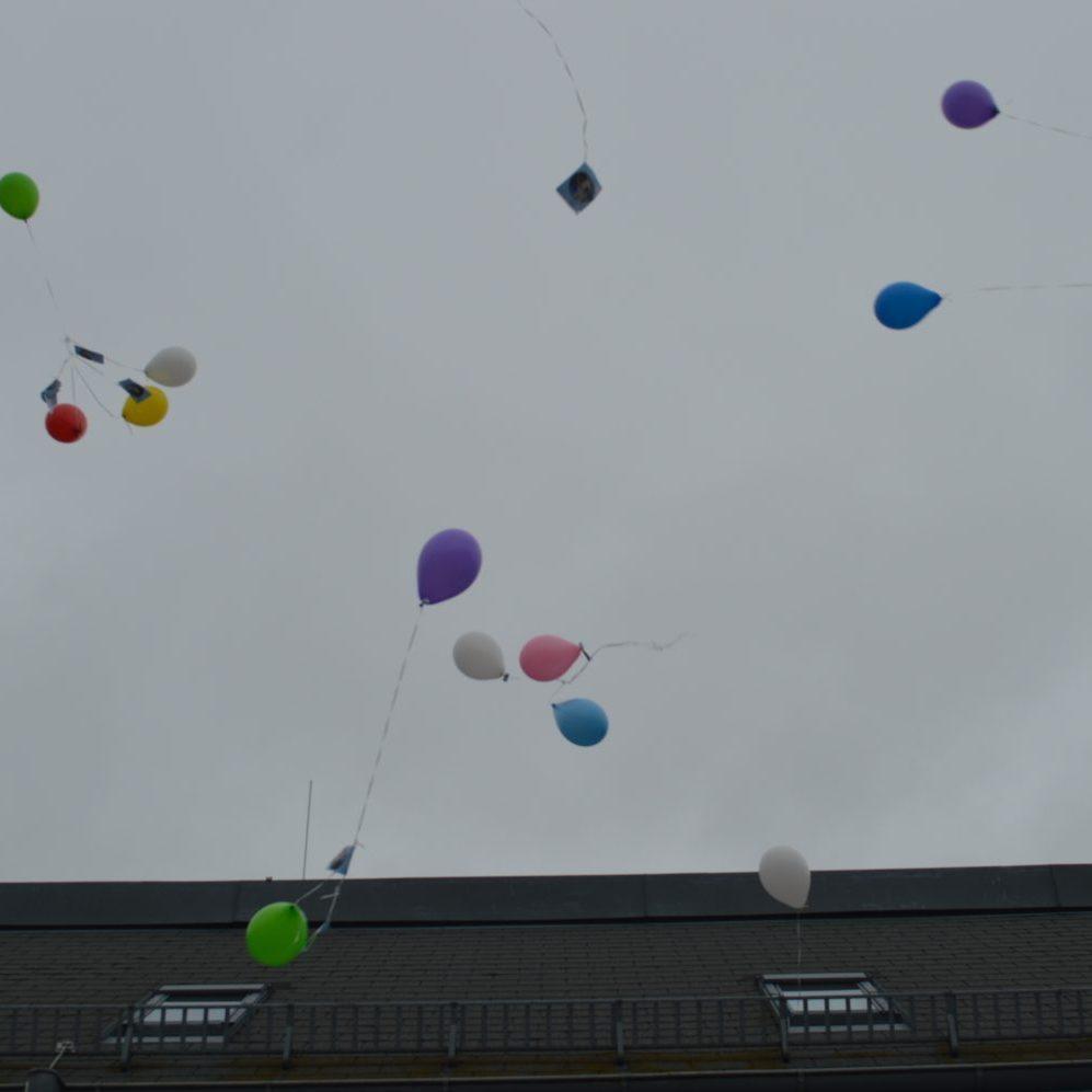 Der Luftballonwettbewerb