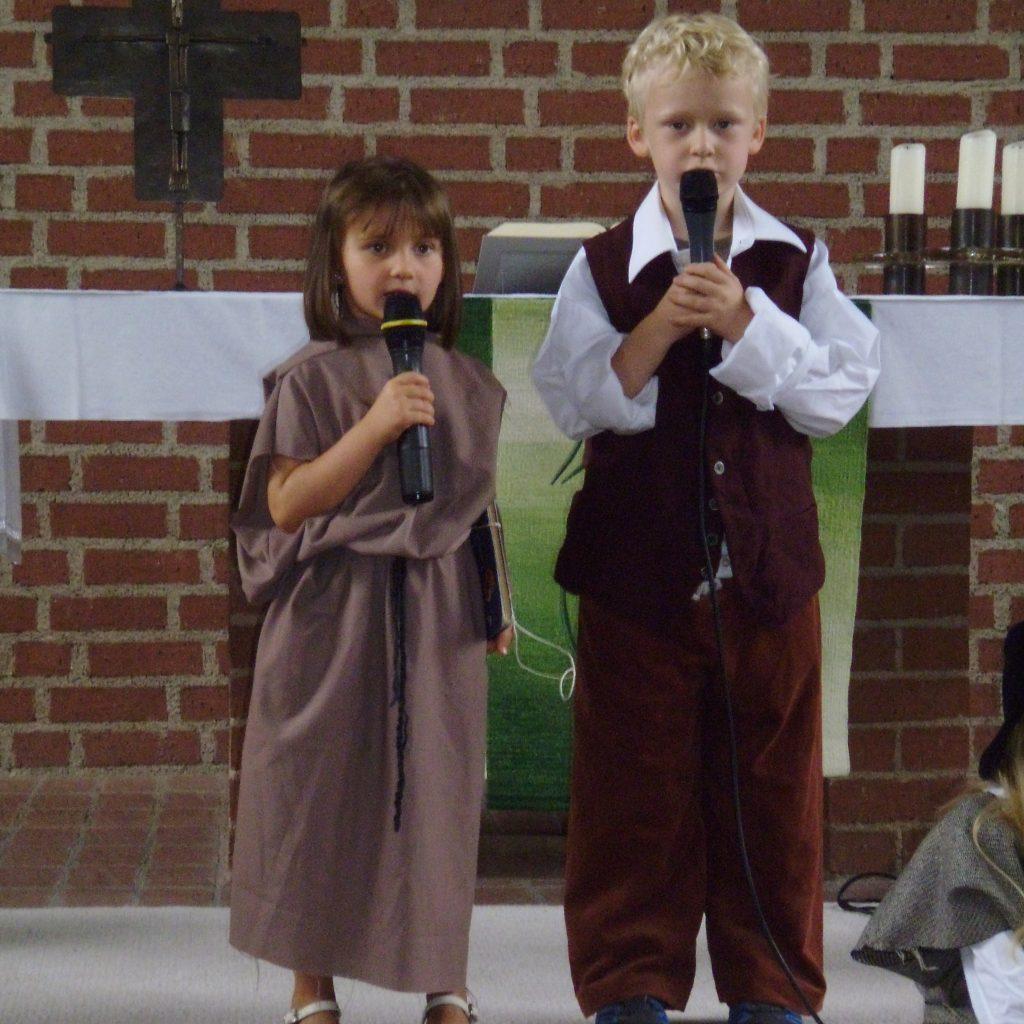Martin Luther Musical in der Dietrich-Bonhoeffer Kirche
