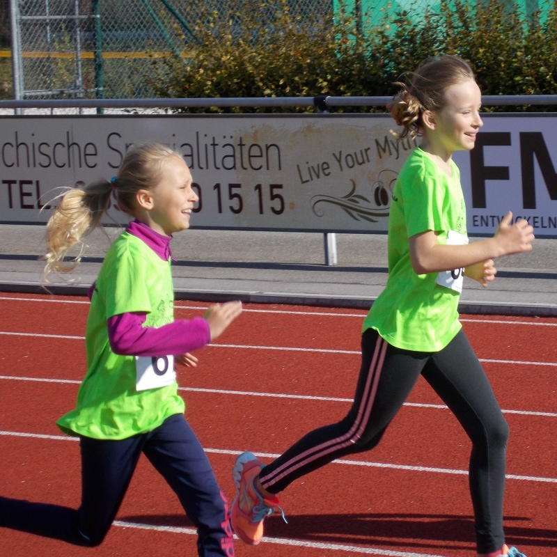 Das Kinderland beim Germeringer Stadtlauf