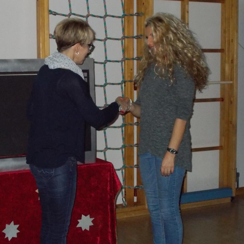10 Jähriges Dienstjubiläum von Sandra Maurath-Kain
