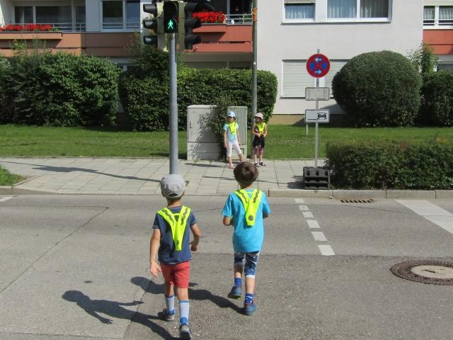 Fußgänger Führerschein (Vorschulkinder)