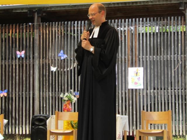 Abschluss- Andacht mit Herrn Pfarrer Lorenz